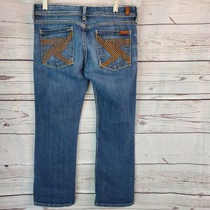 7FAM Flynt cropped jeans 27